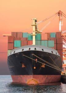 Groupage maritime par cargo - Contenaire de transport de marchandises
