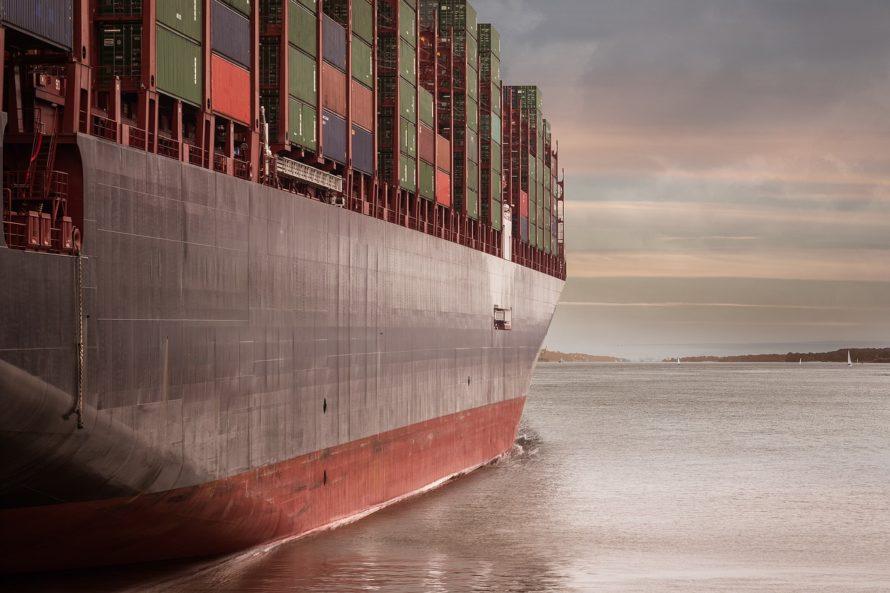 Photo d'un groupage maritime de Flotfrance transportant des marchandises